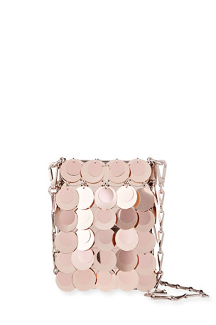 Paco Rabanne 1969 Iconic Sparkle Sequin Crossbody Bag