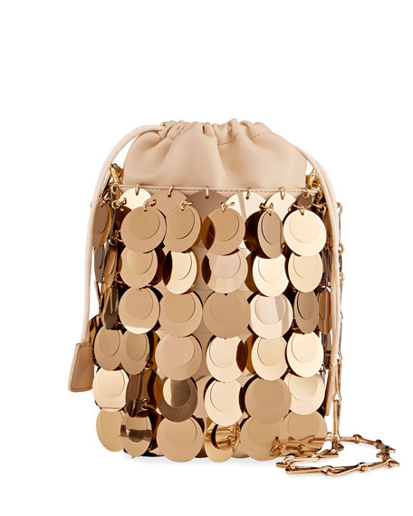 Image 1 of 4: Sparkle Sequin Bucket Bag