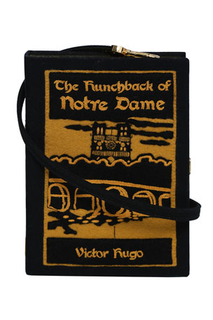 Olympia Le-Tan Hunchback of Notre Dame Book Clutch Bag