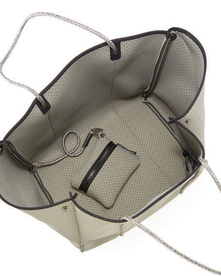 State of Escape Escape Perforated Tote Bag, Sage
