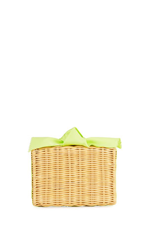 Pamela Munson The Charlotte Woven Clutch Bag