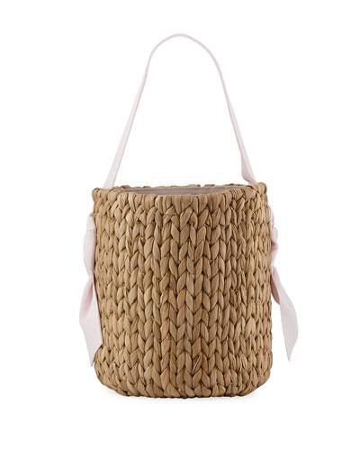 Isla Bahia Petite Basket Tote Bag