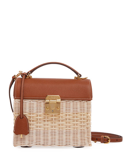 Image 1 of 1: Sara Rattan Bag