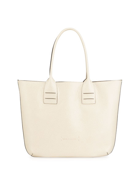Brunello Cucinelli Totes REVERSIBLE MIXED LEATHER TOTE BAG