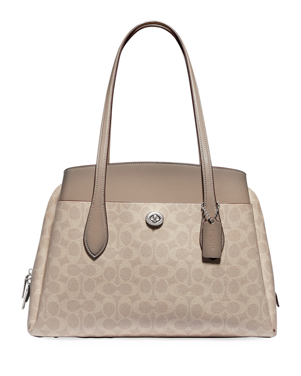 Coach 1941 Lora Coated Canvas Signature Carryall Bag
