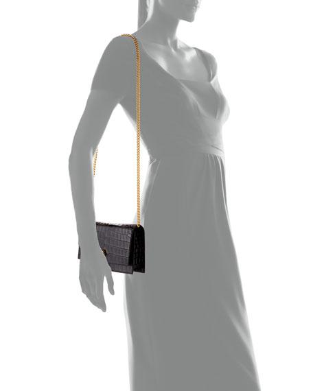 Alexander McQueen Mini Skull Stamped Clutch Bag