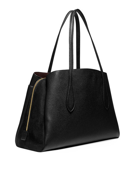 Coach 1941 Lora Mixed Leather Carryall Bag