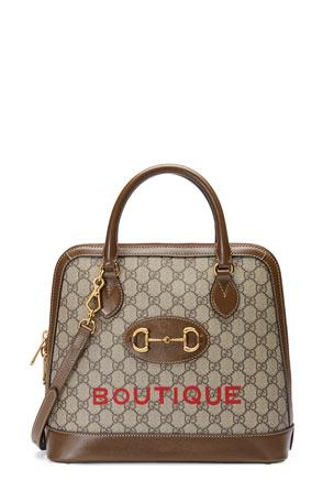 Gucci 1955 Horsebit Medium GG Supreme Top-Handle Bag