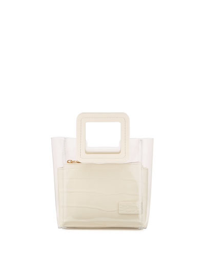 Shirley Mini Square-Handle Tote Bag