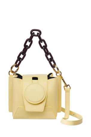 Yuzefi Daria Leather Shoulder Bag