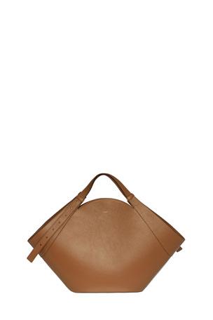 Yuzefi Basket Leather Medium Tote Bag