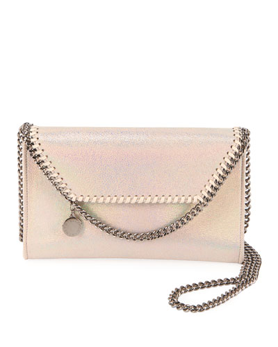 Falabella Mini Metallic Crossbody Bag