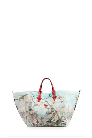 Christian Louboutin Cabata Paris Tote Bag