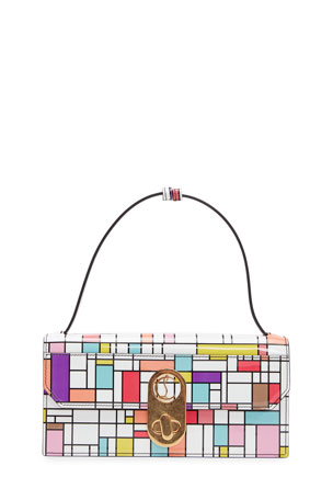 Christian Louboutin Elisa Multicolored Cube Shoulder Bag