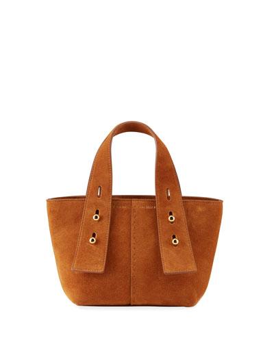 Les Second Mini Leather Tote Bag