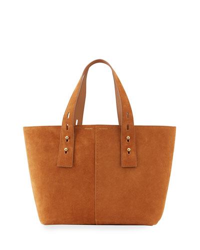 Les Second Medium Suede Tote Bag
