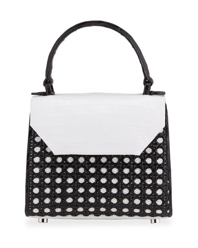 Lily Mini Cane Top-Handle Bag