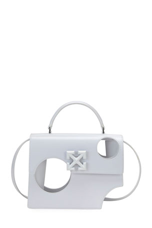 Off-White Jitney 28 Meteor Shower Top-Handle Bag
