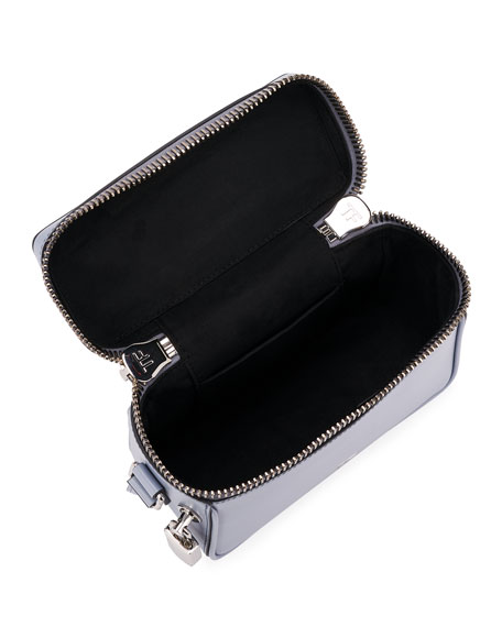 Image 2 of 3: TOM FORD Metro Small Soft Leather Box Shoulder Bag with Silver Hardware