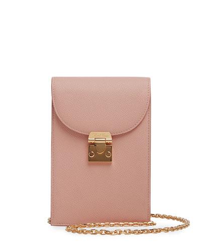 Francis Soft Saffiano Chain Crossbody Bag