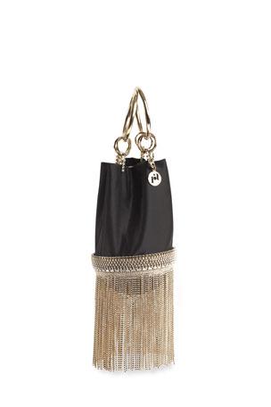 Rosantica Ghizlan Chain Fringe Minaudiere Bag