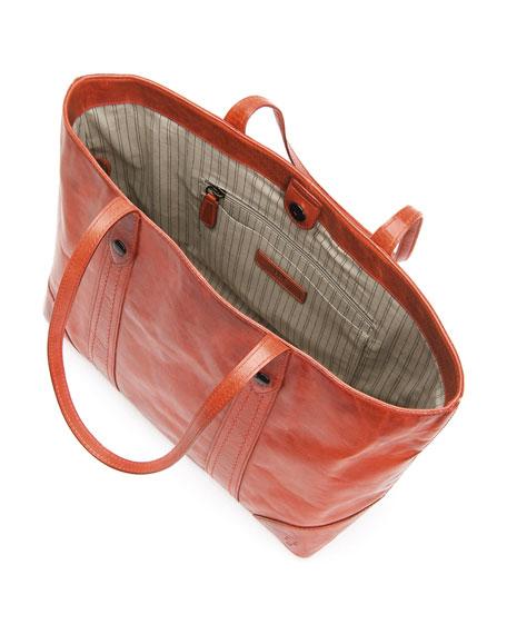 Frye Melissa Leather Shopper Tote Bag