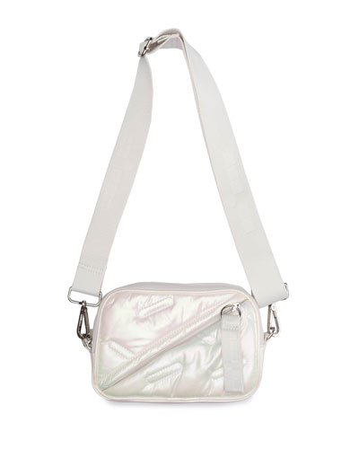 Convertible Iridescent Fanny Pack Bag