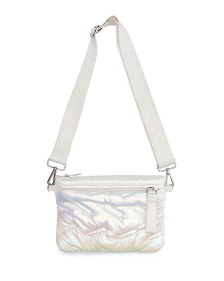 Go Dash Dot Puffle Iridescent Bag