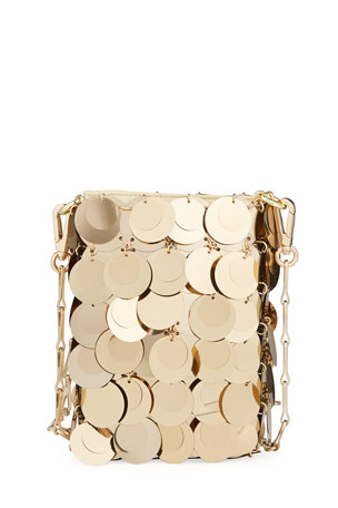 Paco Rabanne 1969 Iconic Sparkle Mini Sequin Crossbody Bag