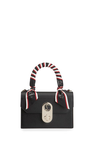 Christian Louboutin Elisa Small Wrapped Top Handle Satchel Bag