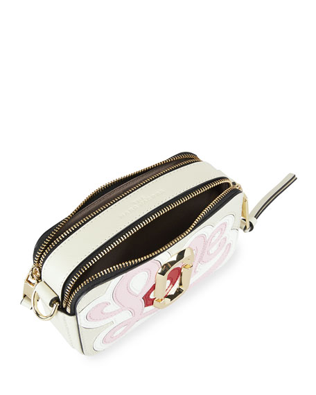 Image 2 of 3: The Marc Jacobs Snapshot Printed Love Crossbody Bag