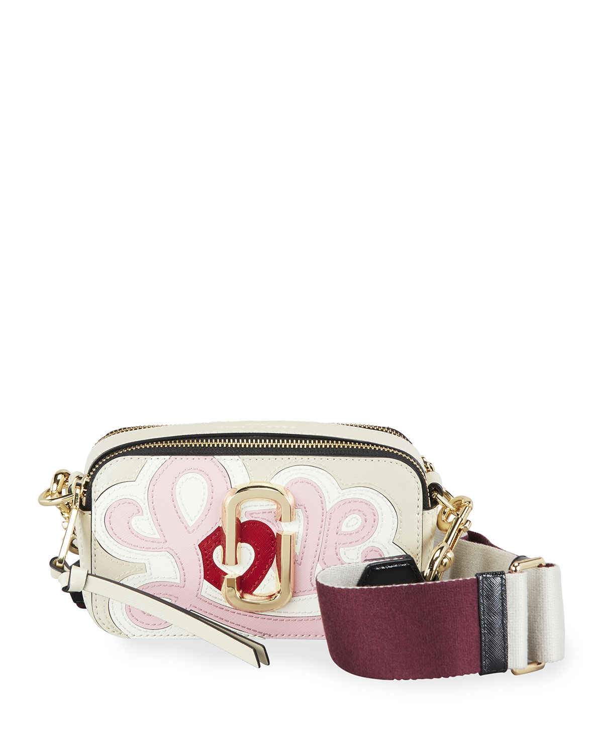 The Marc Jacobs Snapshot Printed Love Crossbody Bag