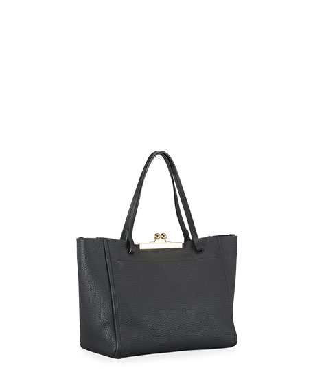 Image 3 of 3: The Marc Jacobs The Kiss Lock Mini Tote Bag