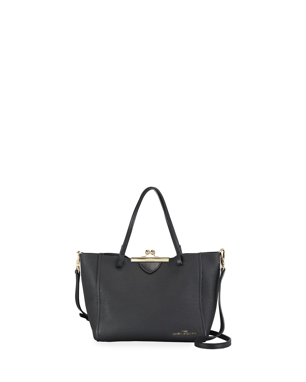 The Kiss Lock Mini Tote Bag