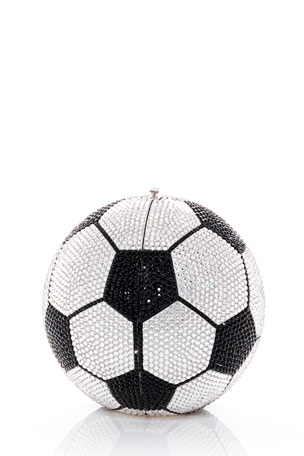Judith Leiber Couture Sphere Soccer Ball Clutch Bag