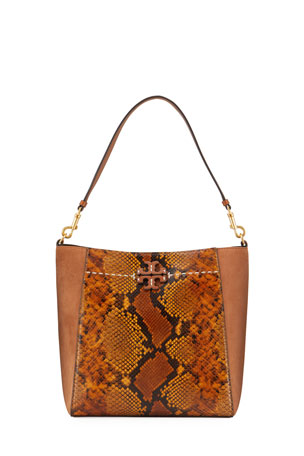 Tory Burch McGraw Exotic Hobo Bag