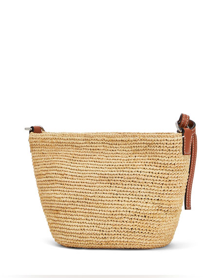 Image 3 of 4: Loewe x Paula's Ibiza Raffia Medium Crossbody Bag