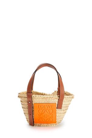 Loewe x Paula's Ibiza Small Palm Basket Tote Bag