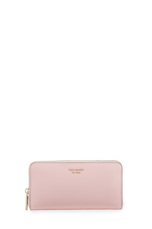 kate spade new york spencer continental zip wallet
