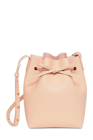 Mansur Gavriel Calf Leather Mini Bucket Bag