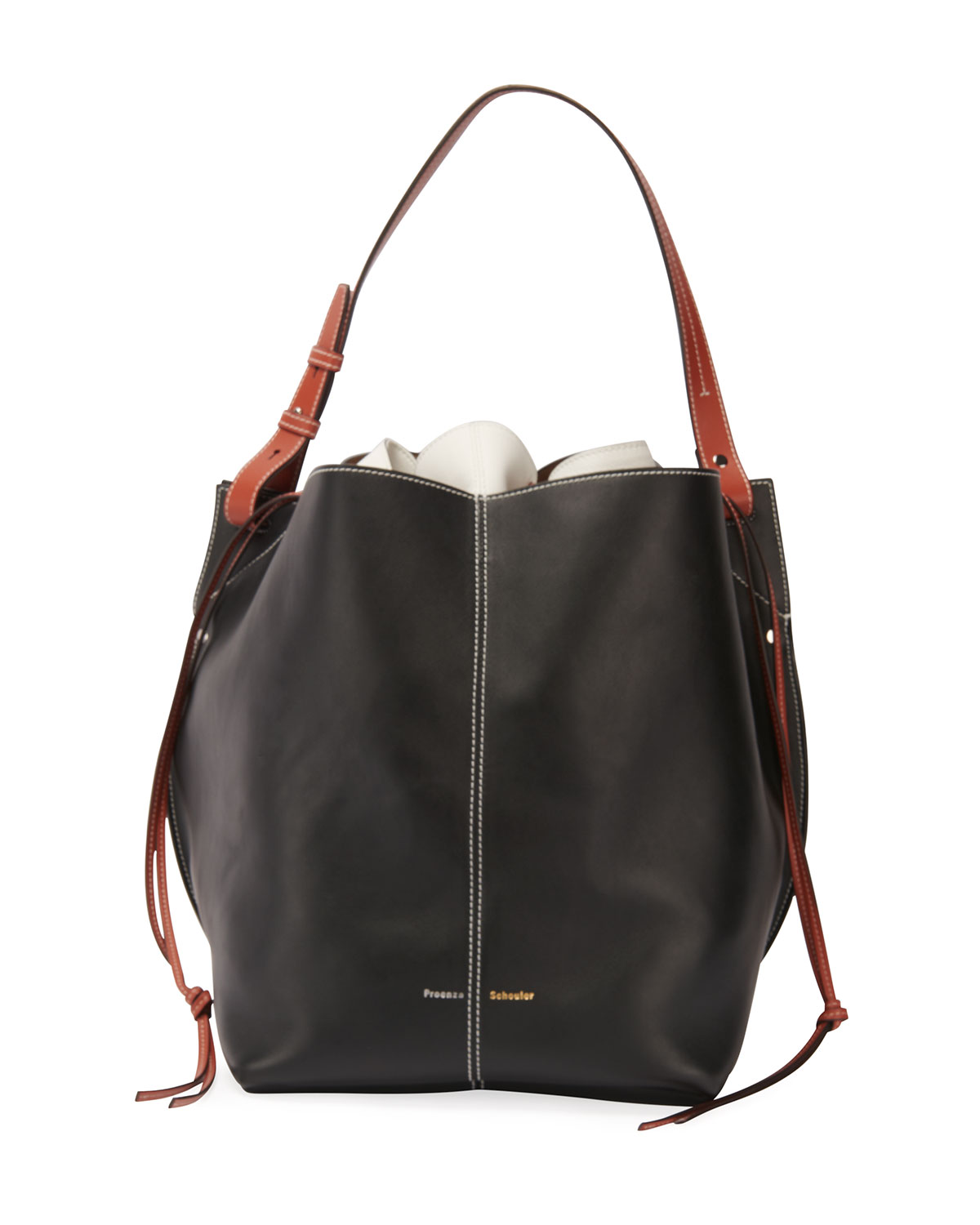 Proenza Schouler Smooth Leather Bucket Bag
