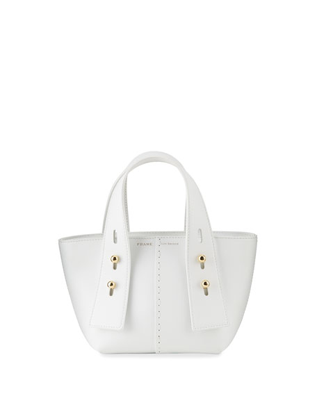 Image 1 of 3: FRAME Les Second Mini Leather Tote Bag