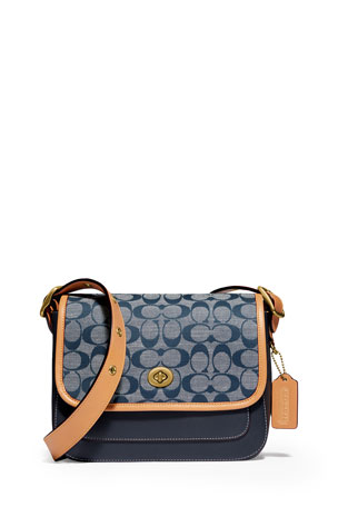 Coach 1941 Rambler C Logo Small Crossbody Bag