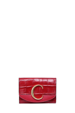 Chloe C Mini Tri-Fold Wallet