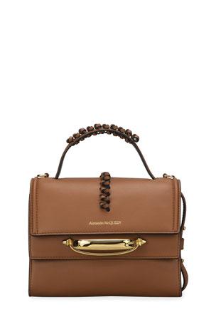 Alexander McQueen The Story Crossbody Top-Handle Bag