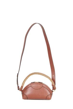 Stella McCartney Mini Textured Eco Alter Crossbody Bag
