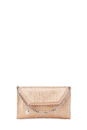 Stella McCartney Falabella Mini Woven Wallet on Chain