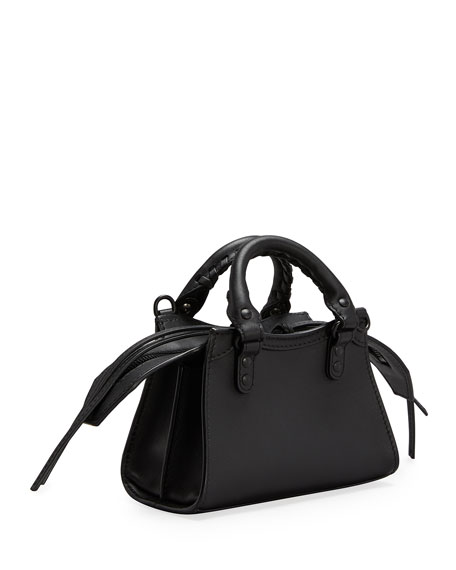 Image 3 of 3: Balenciaga Neo Classic City Nano Calfskin Satchel Bag