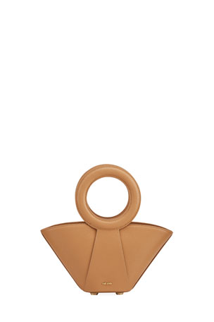 Cult Gaia Roksana Mini Ring-Handle Crossbody Bag