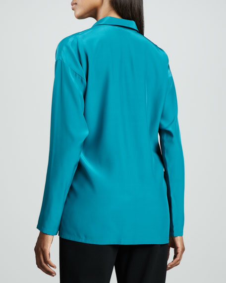 Vara Matte Silk Tunic